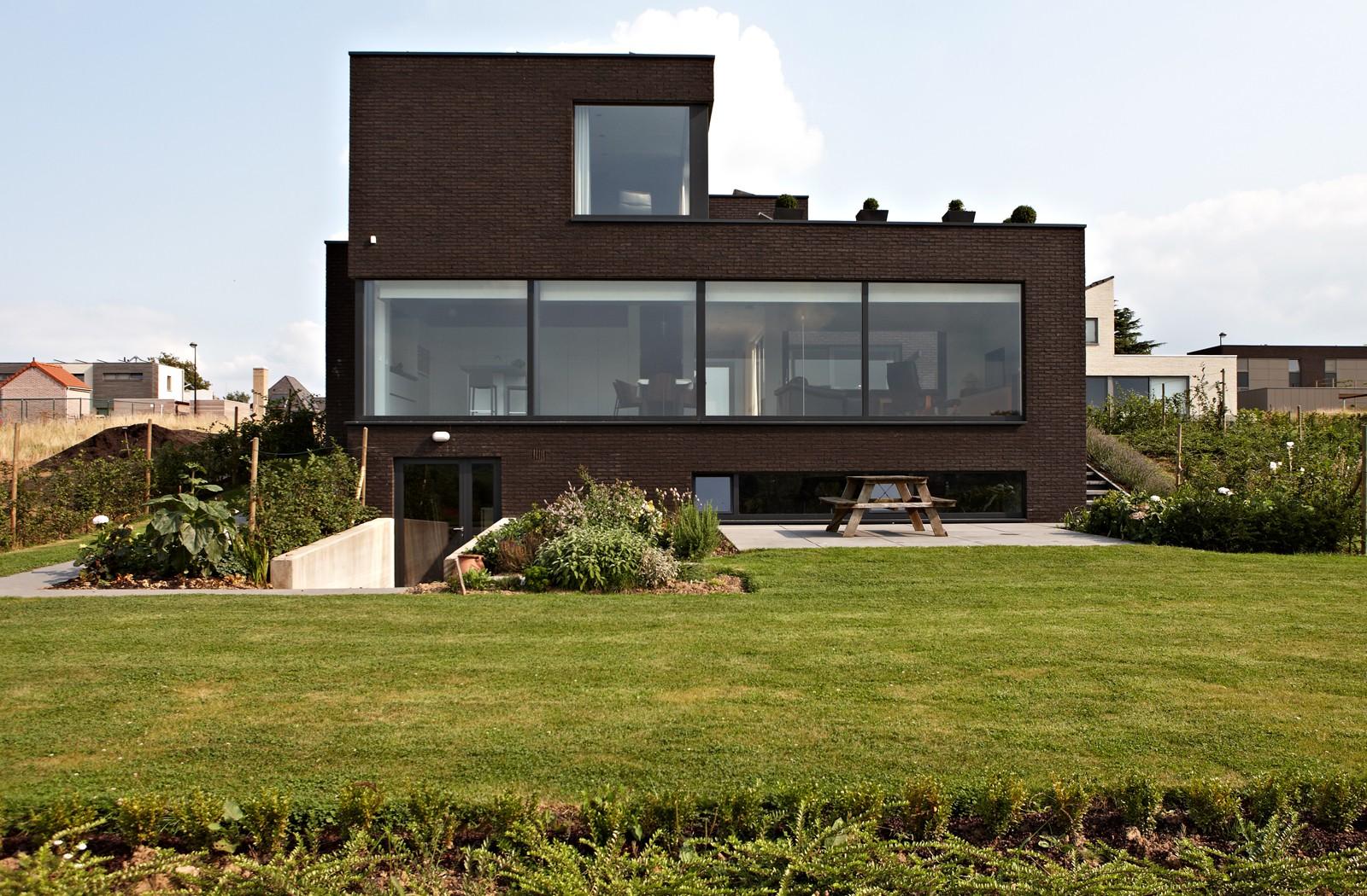 Dumobil villabouw woonprojecten for Moderne villabouw