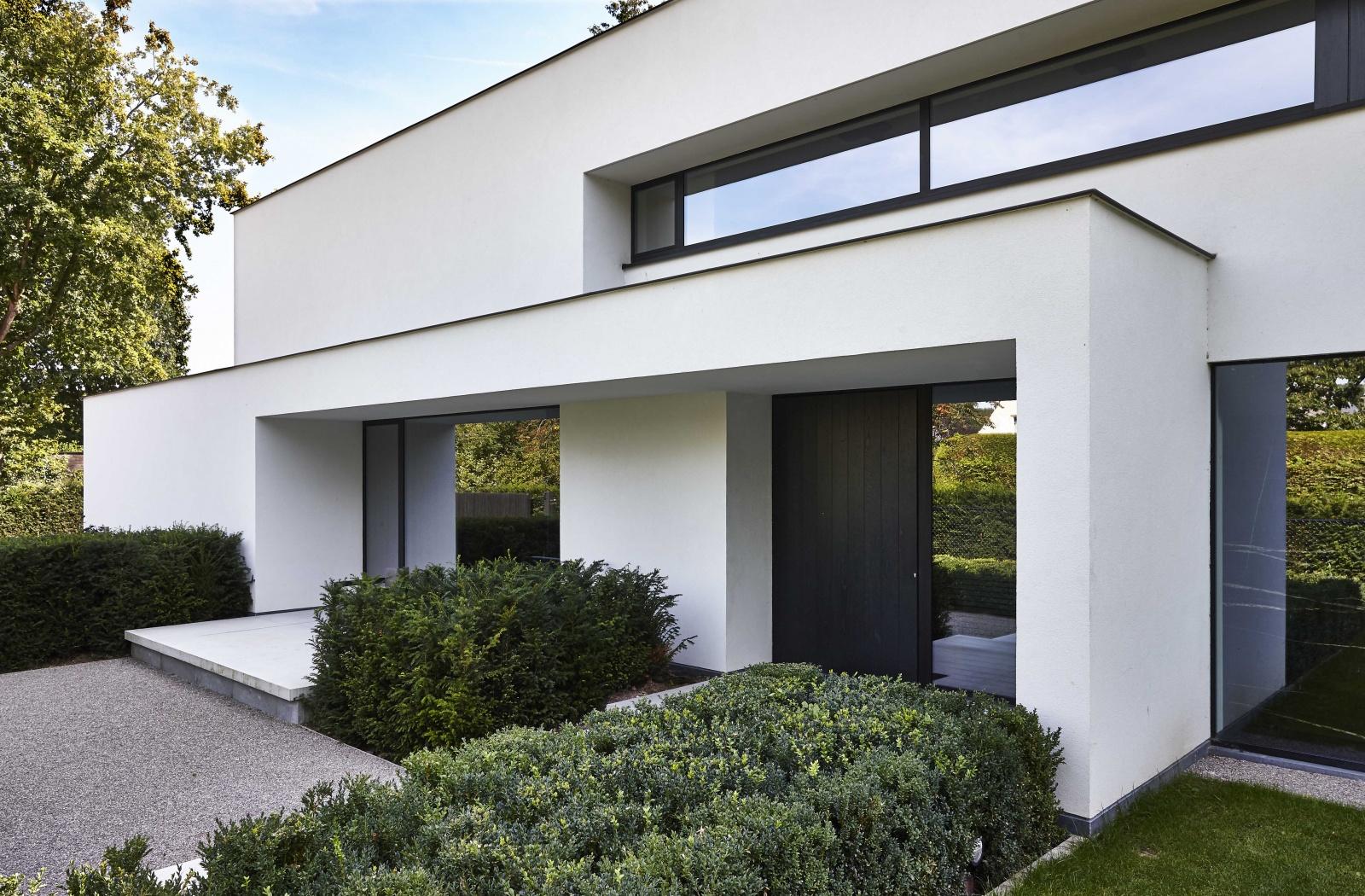 Villabouw dumobil tielt west vlaanderen for Moderne strakke huizen