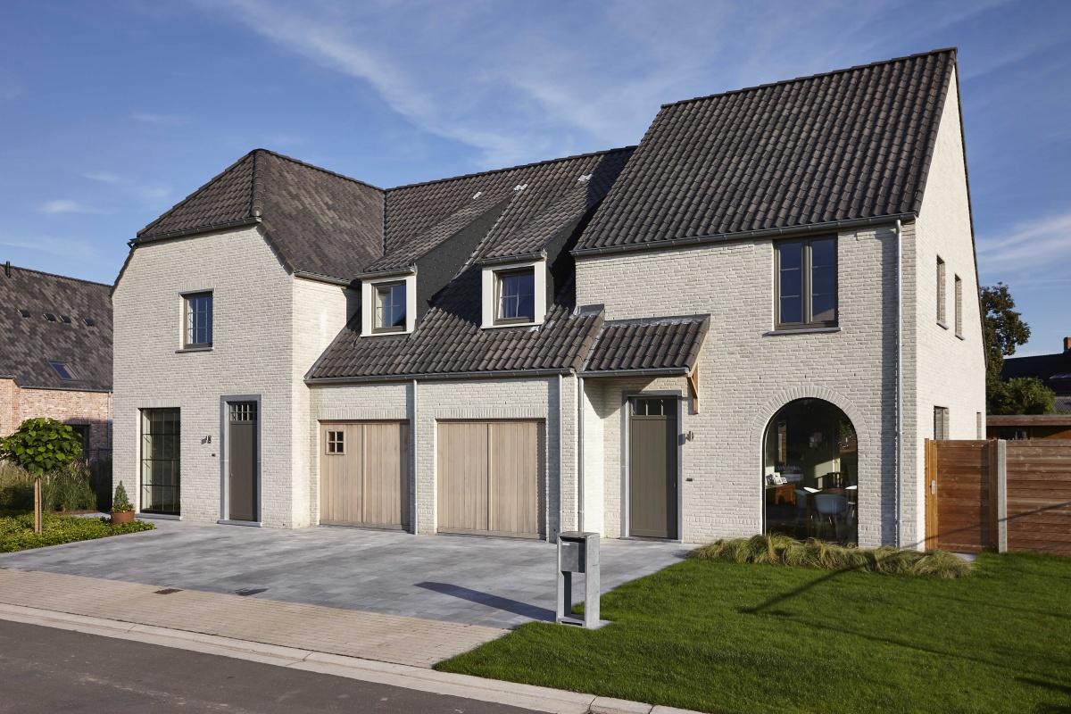 Nieuwbouw woningen eernegem te koop landelijke stijl for Landelijke woning te koop