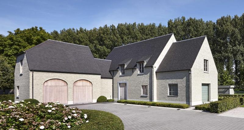 Bouwbedrijf villabouw deinze landelijke moderne for Landelijke villa bouwen