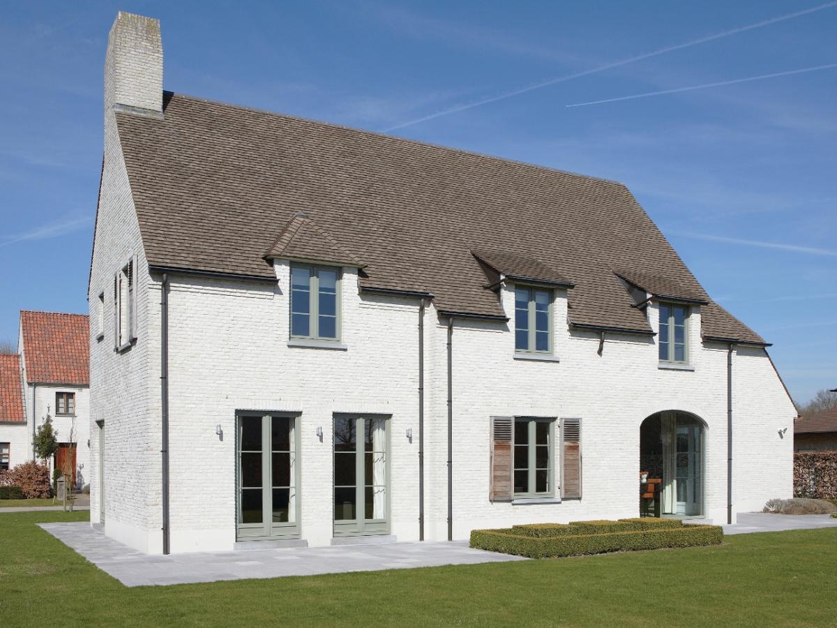 Bouwbedrijf villabouw sint martens latem landelijke for Landelijke villa bouwen