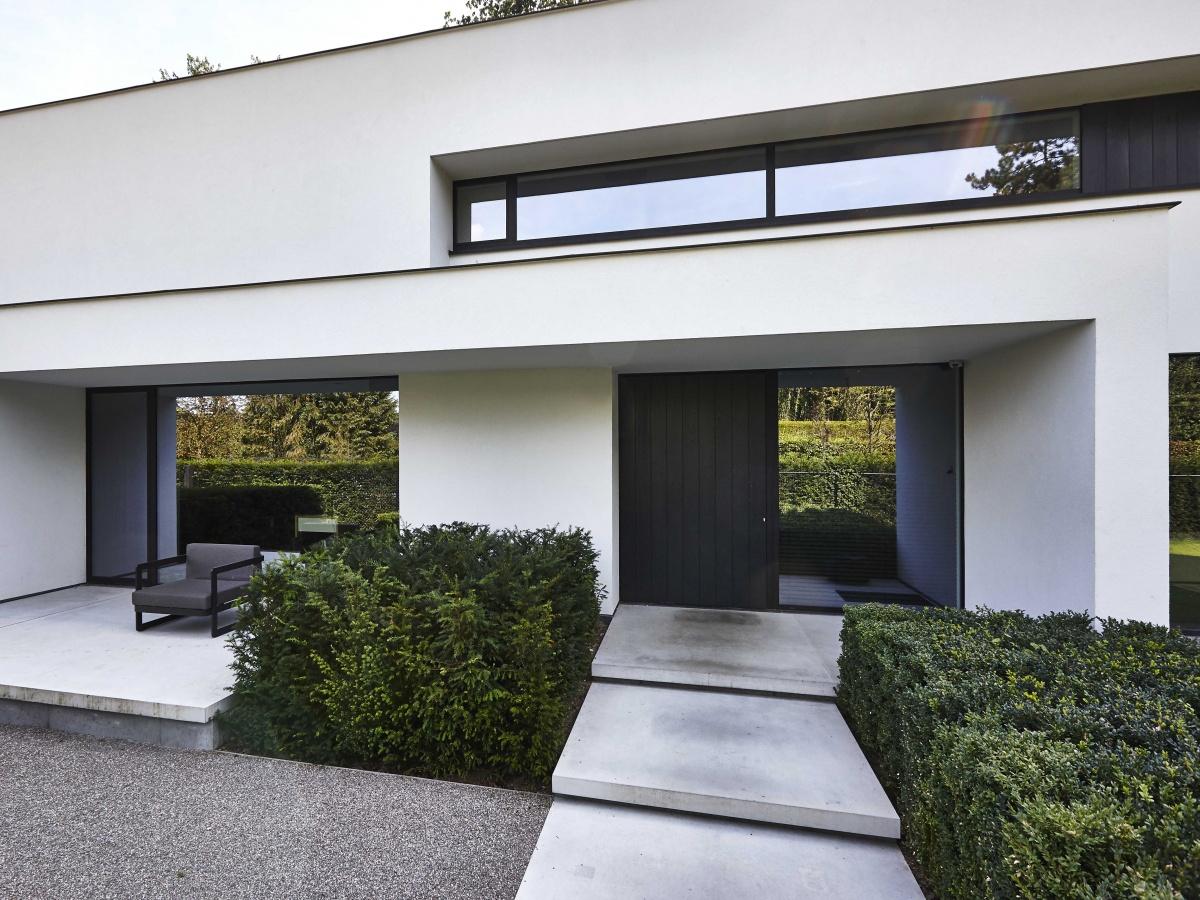 Bouwbedrijf villabouw waregem landelijke moderne for Photo villa moderne