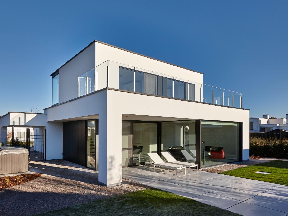 Bouwbedrijf villabouw kortrijk landelijke moderne for Huis bouwen inspiratie