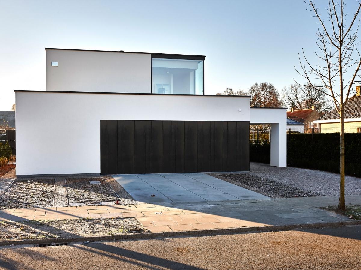 Bouwbedrijf villabouw oost vlaanderen landelijke moderne