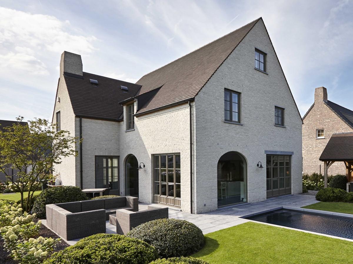 Bouwbedrijf villabouw roeselare landelijke moderne for Landelijke villa bouwen