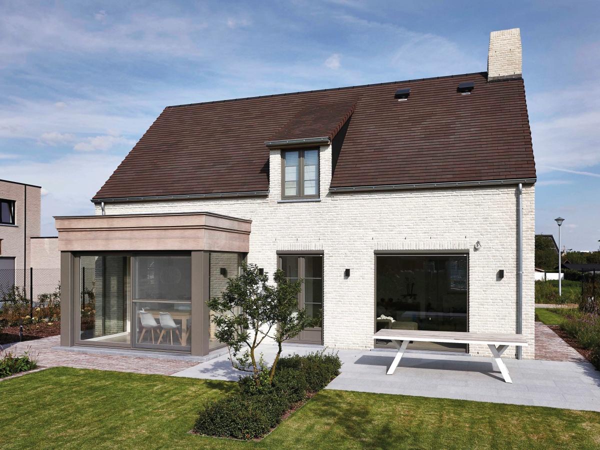 Bouwbedrijf villabouw gent landelijke moderne for Landelijke villa bouwen