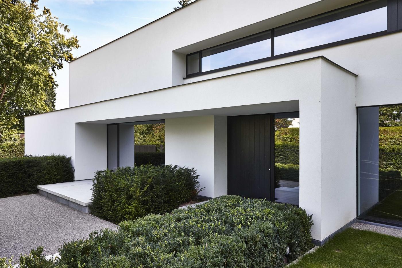 Villabouw dumobil tielt west vlaanderen for Moderne bouw