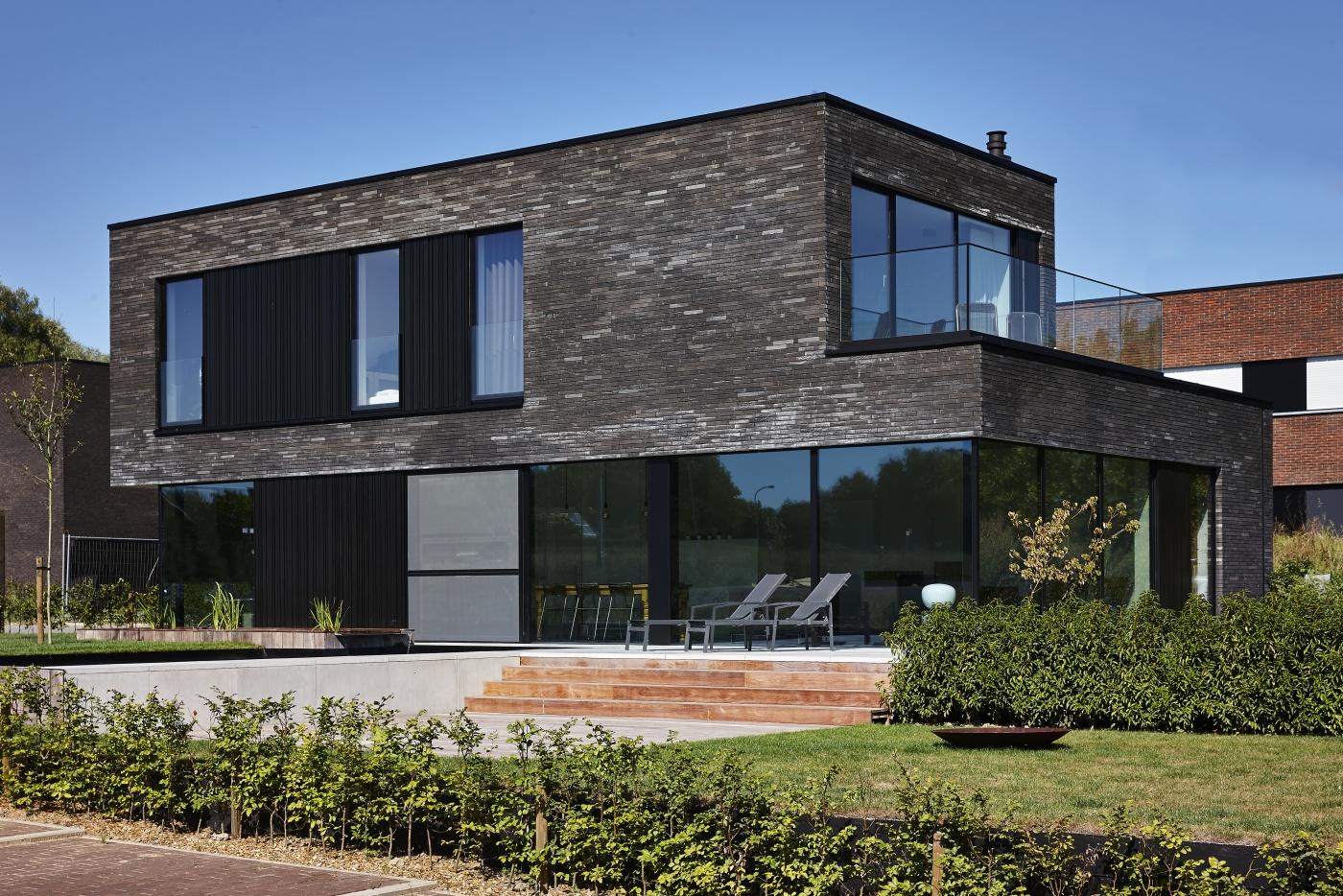 Villabouw dumobil tielt west vlaanderen for Huis bouwen inspiratie