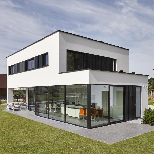 Villabouw dumobil tielt west vlaanderen for Te koop moderne woning